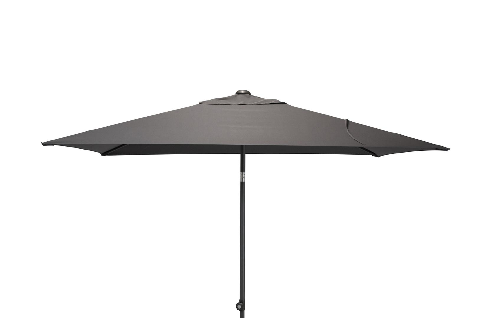 4 Seasons Outdoor Oasis 2 x 2,5m parasol Antraciet