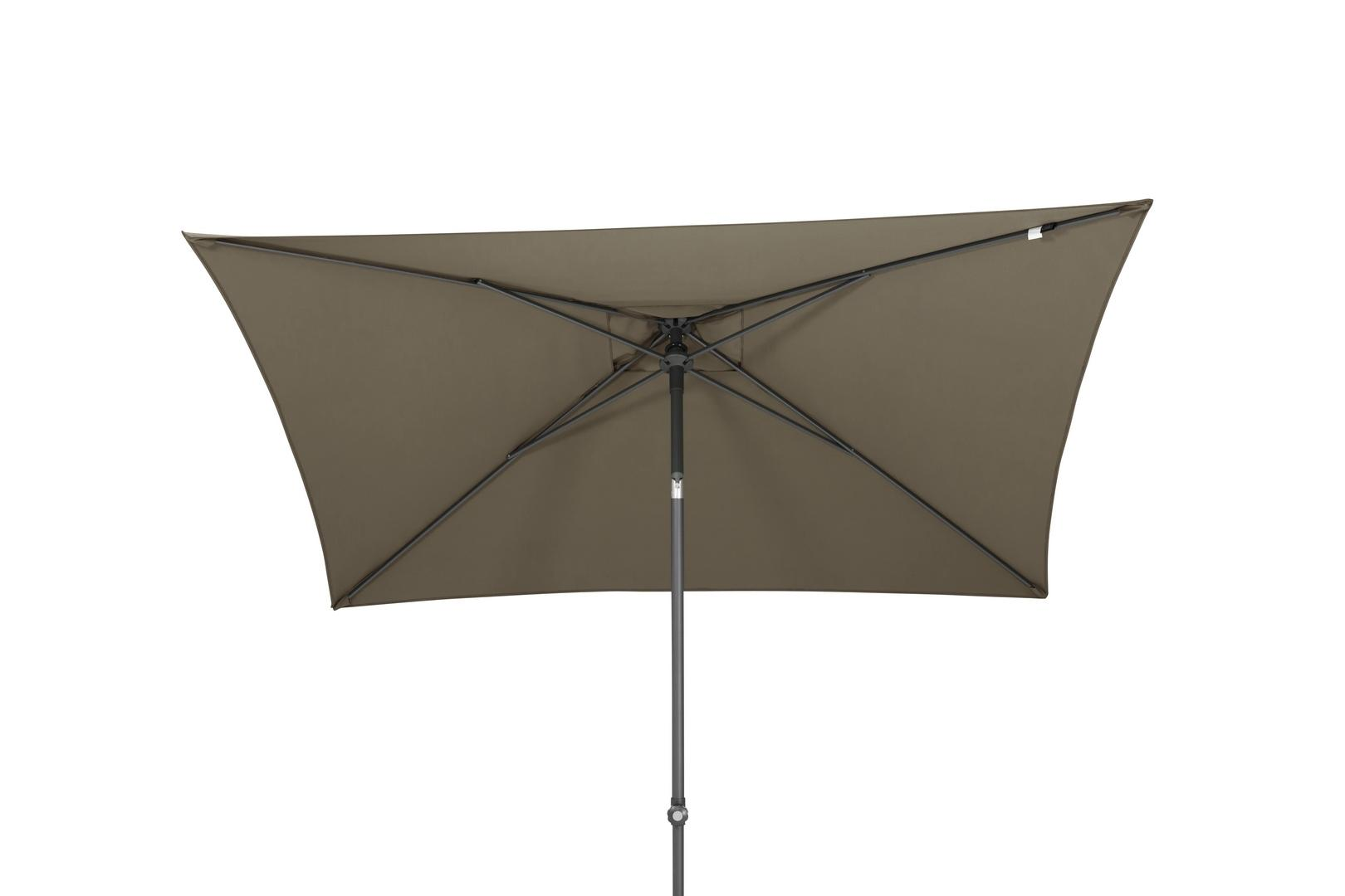 4 Seasons Outdoor Oasis 2 x 2,5m parasol Taupe