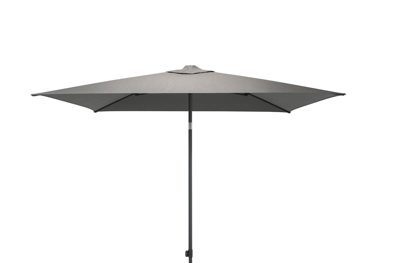 4 Seasons Outdoor Azzurro 2,5 x 2,5m parasol Mid Grey