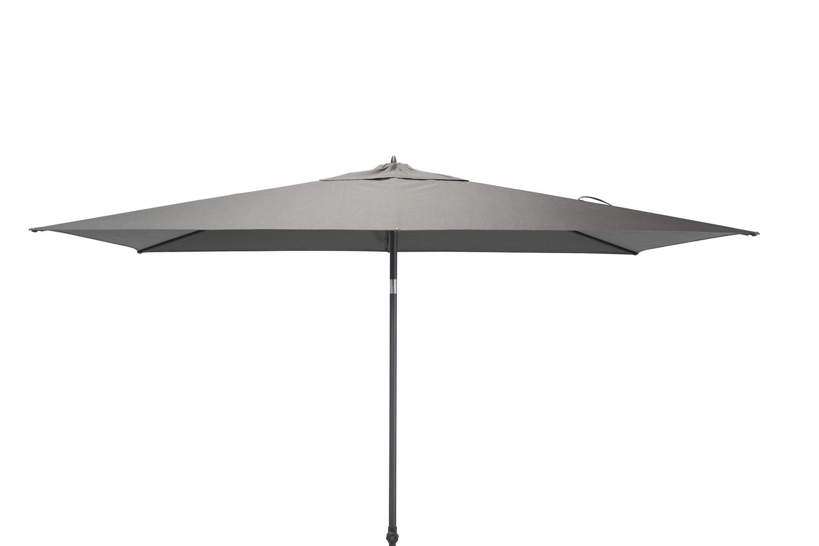 4 Seasons Outdoor Azzurro 2 x 3m parasol Charcoal