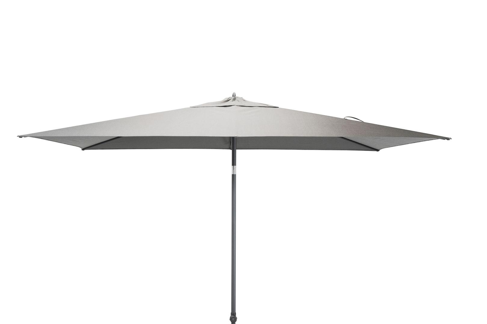 4 Seasons Outdoor Azzurro 2 x 3m parasol Mid Grey