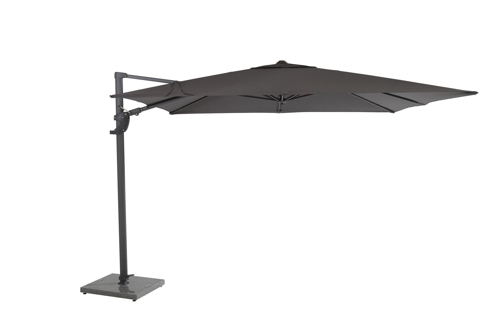 4 Seasons Outdoor Horizon Premium 3 x 3m parasol Antraciet