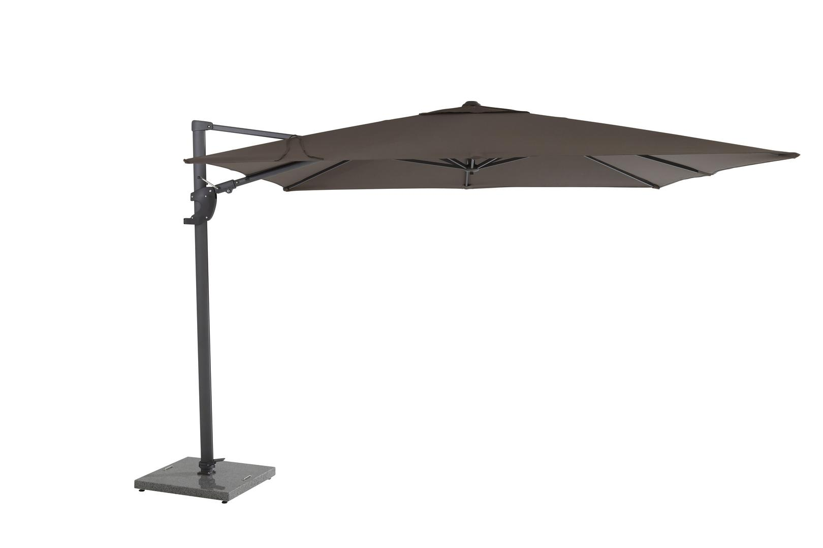 4 Seasons Outdoor Horizon Premium 3 x 3m parasol Taupe