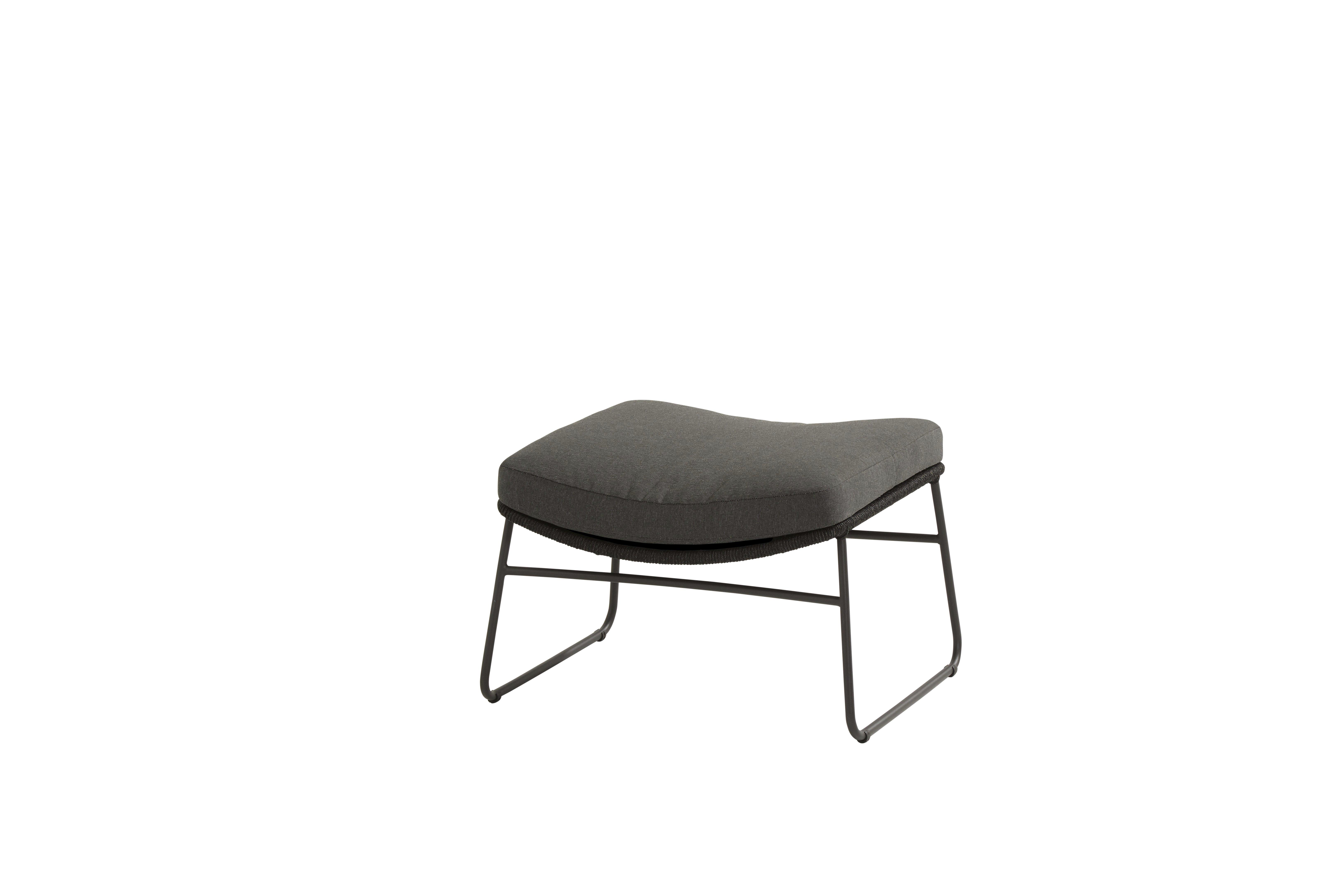 213524_ Accor footstool Anthracite with cushion-1