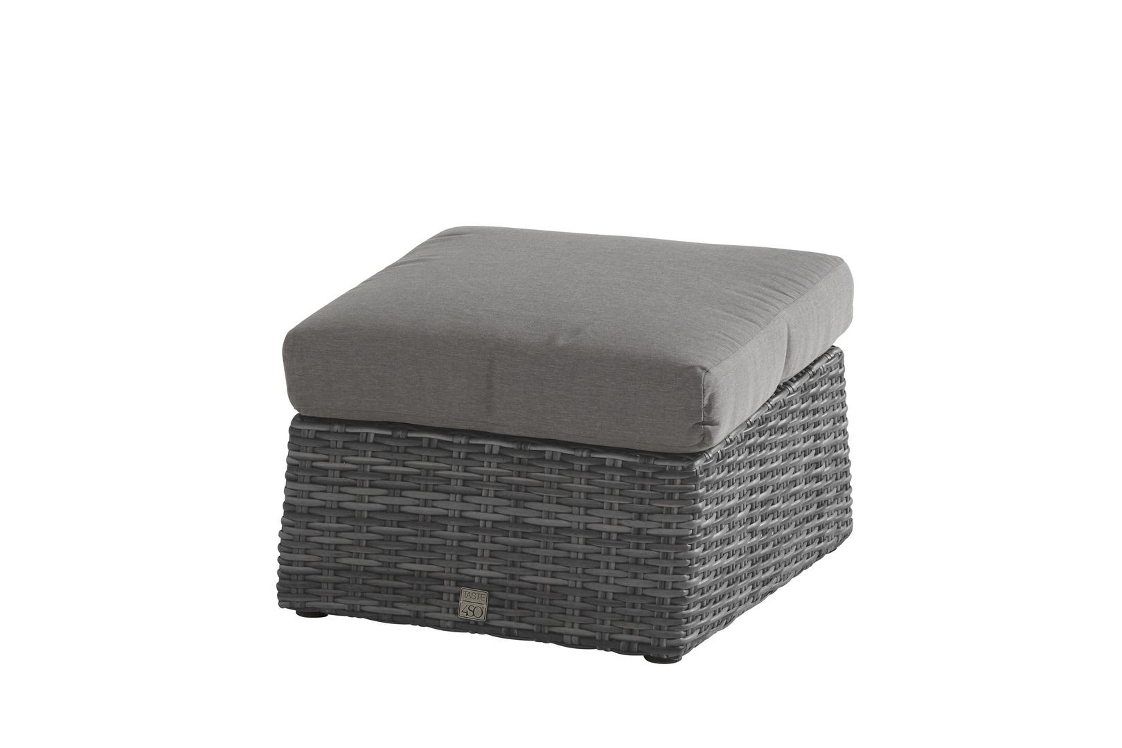 Taste 4SO Catania footstool zwart