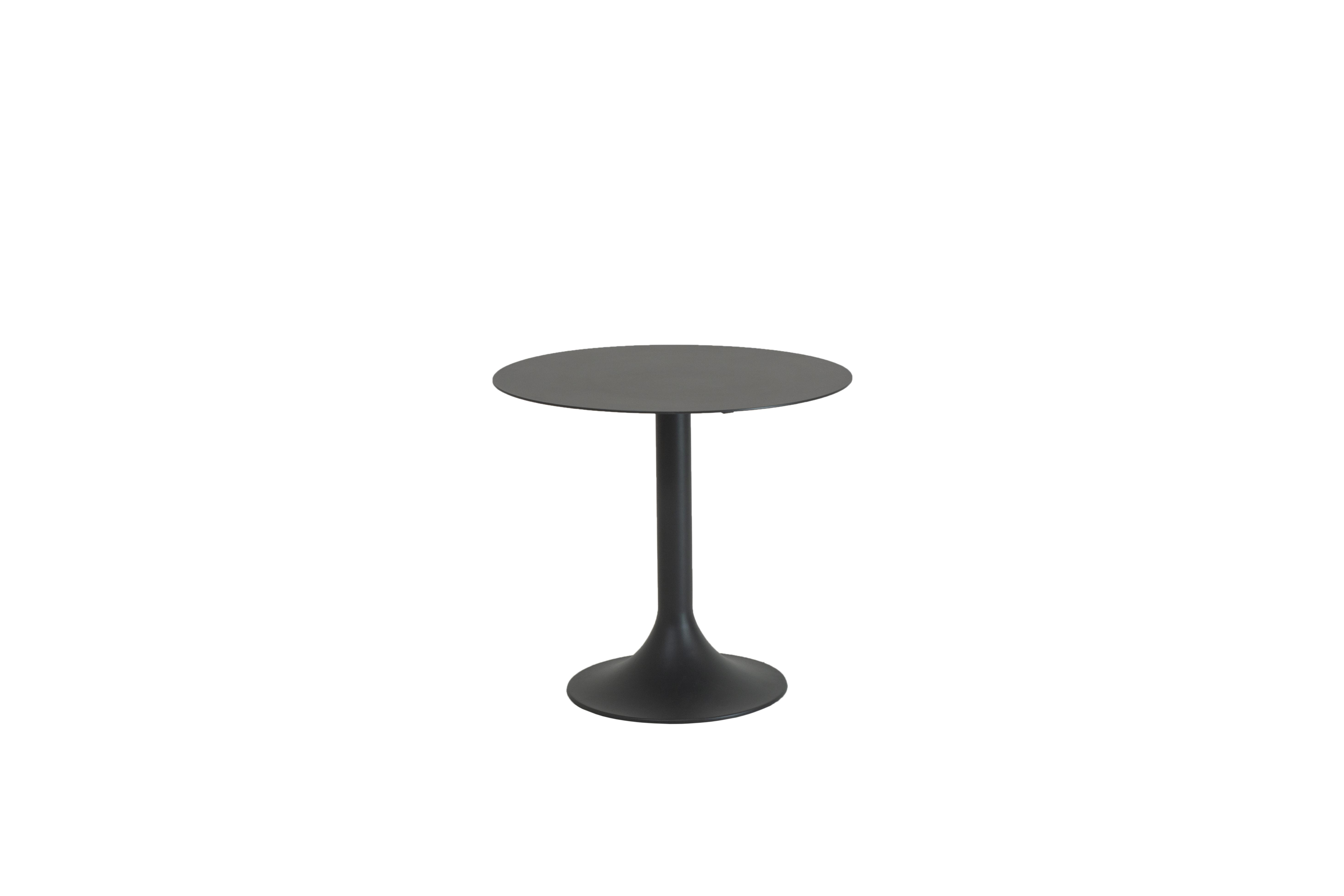 90816_ Santorini dining table 80cm Matt Carbon-1