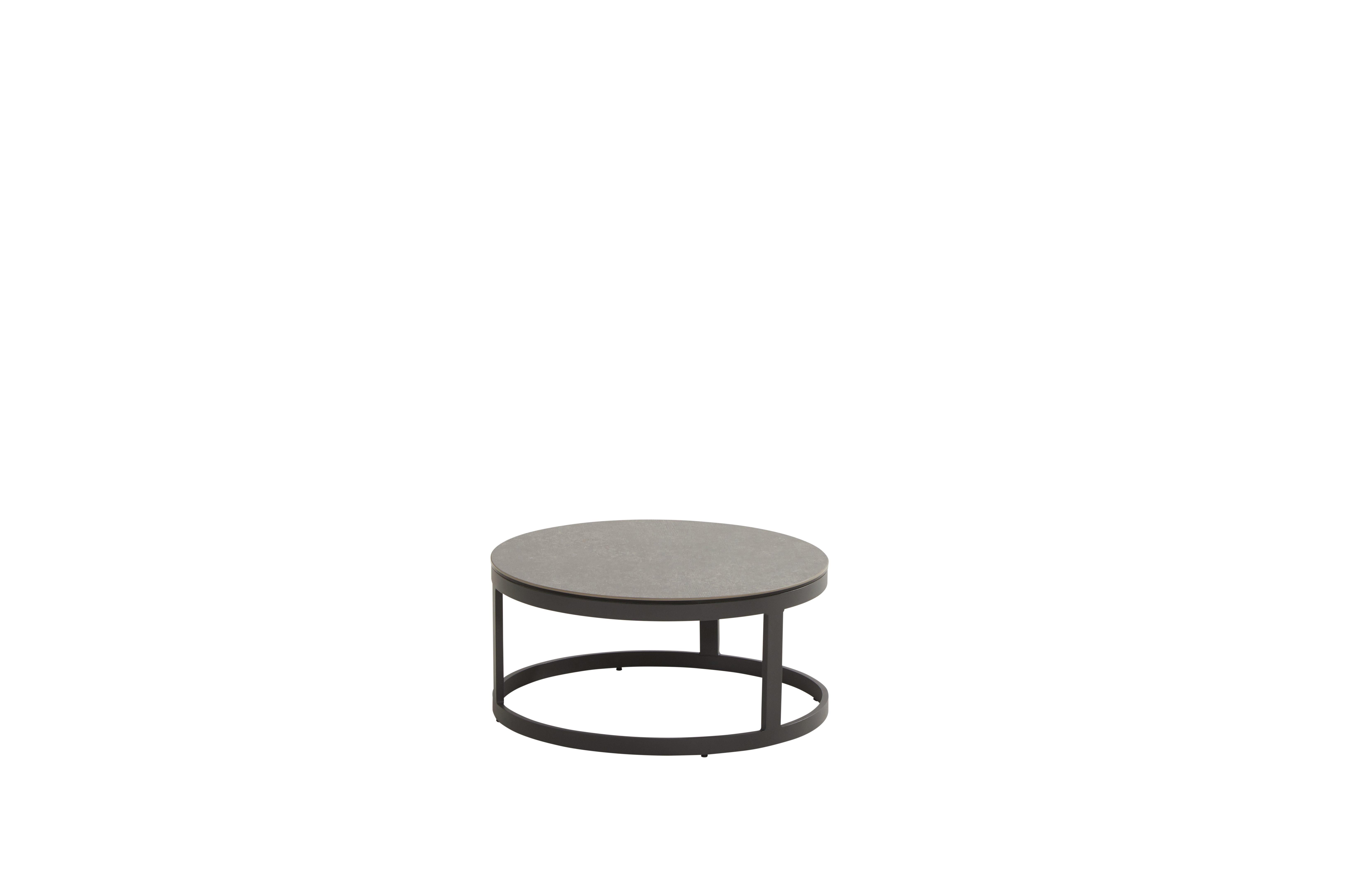 91024_ Stonic set of 2 coffee tables 80 and 60 cm - CERAMIC ONLY